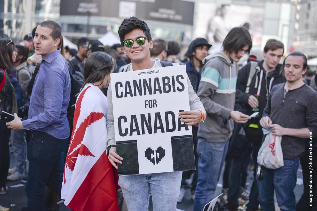 Eine Feier am 20. April in Kanada