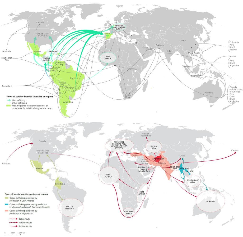 L'argent provenant des drogues illicites affecte l'économie mondiale Partie I: Marchés libres, réglementation financière et blanchiment d'argent