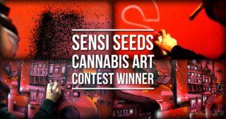 Sensi Seeds : Street Art Contest – Les gagnants
