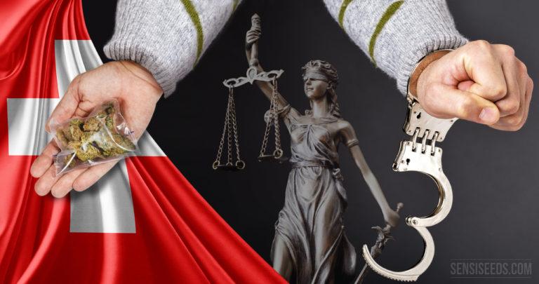 Suisse : Acquittement pour huit grammes de cannabis et conséquences