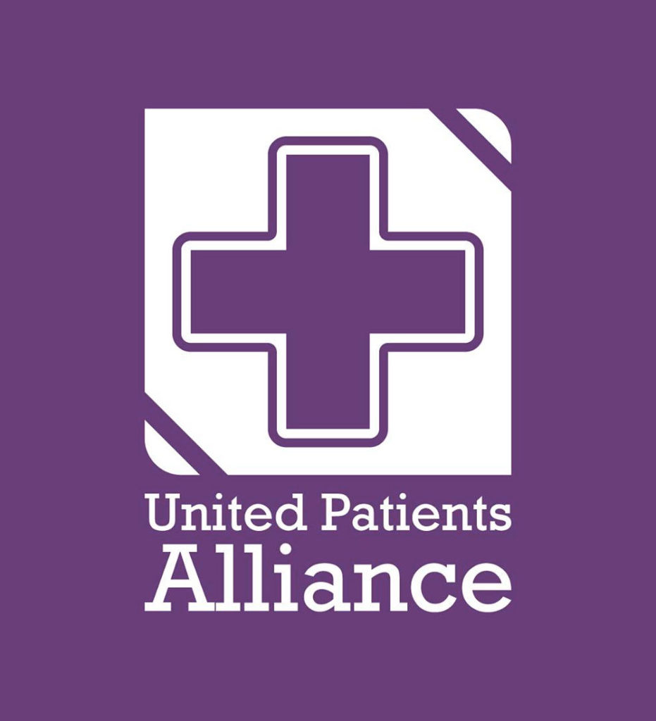 The logo of the United Patients Alliance