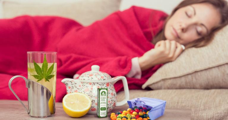 Le cannabis contre la toux et le rhume