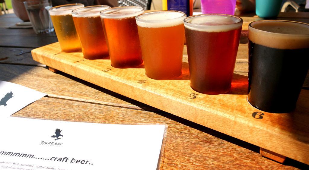 La cerveza artesanal también puede variar mucho en el contenido de terpenos (© Tama Leaver)