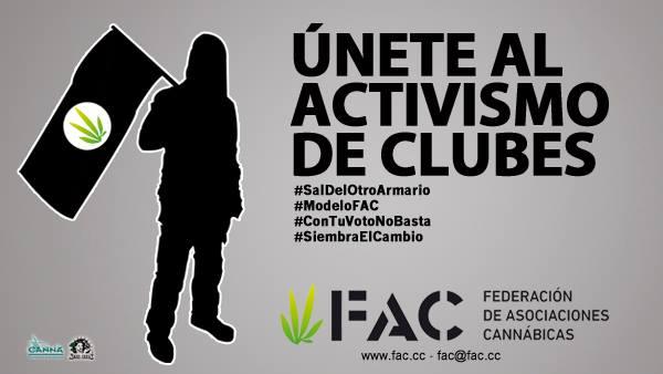 5. La FAC asesora y supervisa el movimiento de los Clubes Sociales de Cannabis (© FAC)