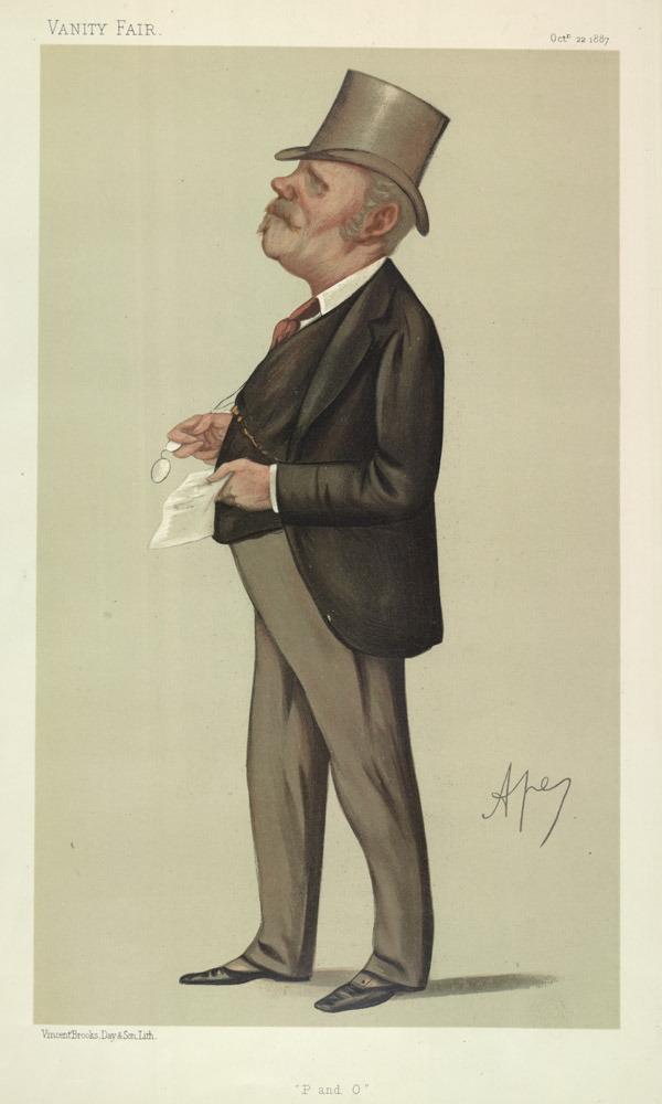 Thomas Sutherland, Opiumhändler und Gründer der HSBC