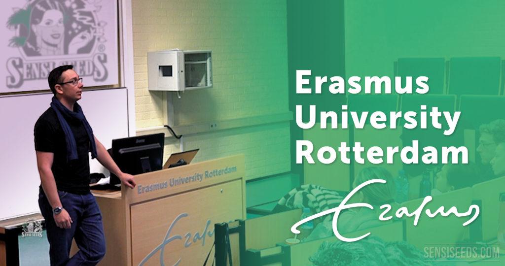 Sensi Seeds se reúne con la Universidad Erasmus