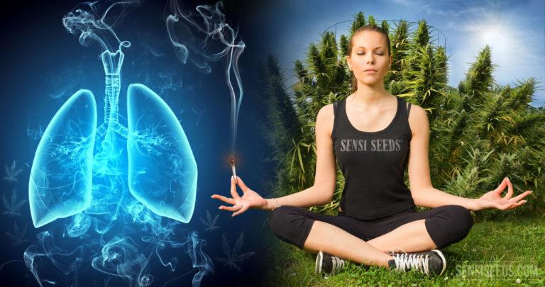 Votre opinion : retenir la fumée dans les poumons pour un plus grand «high» ?