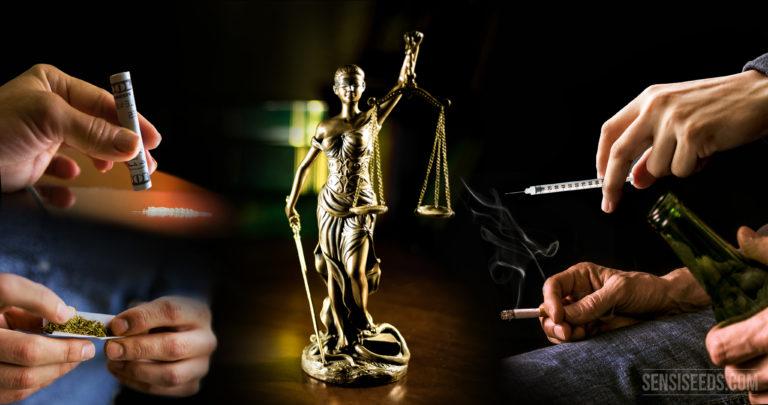 Votre opinion : les drogues devraient-elles toutes être légales ?