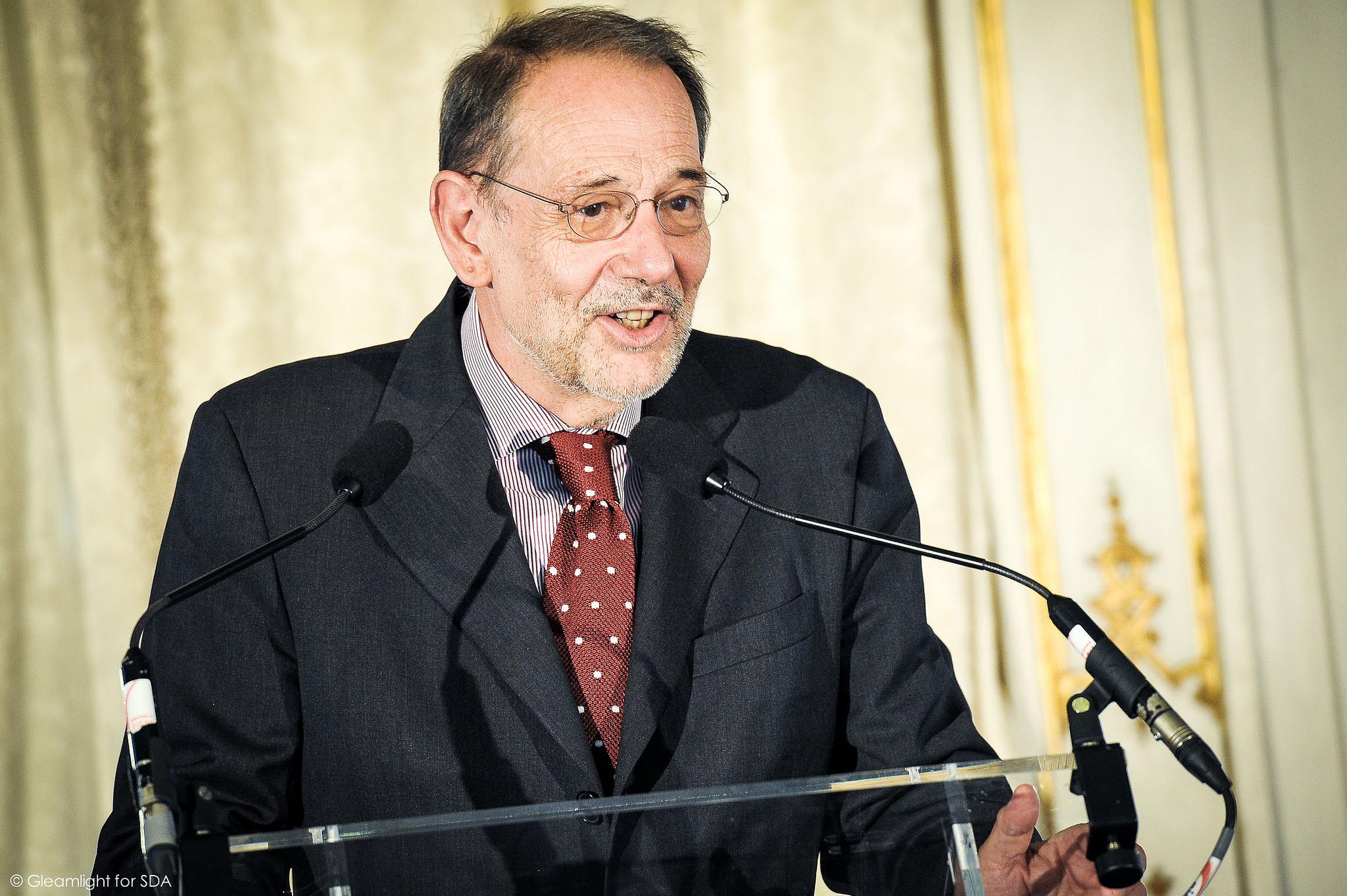 Javier Solana, politicus en Spaans diplomaat (CC. Security & Defence Agenda)