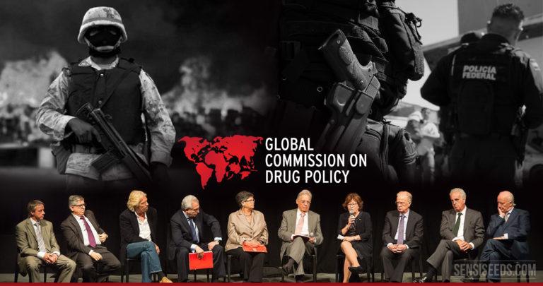 Weltkommission für Drogenpolitik fordert die Entkriminalisierung aller Drogen