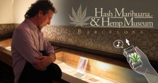 Das Cannabis-Museum in Barcelona stellt seinen neuen Audioguide vor