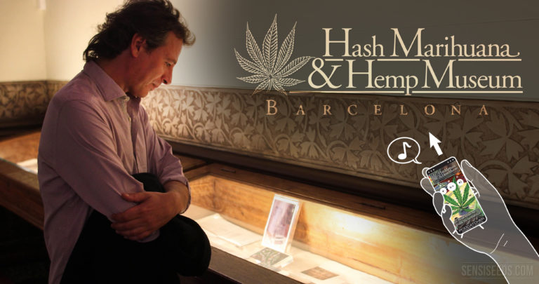 Barcelona Cannabis Museum Enhances Experience with New Audio Guide