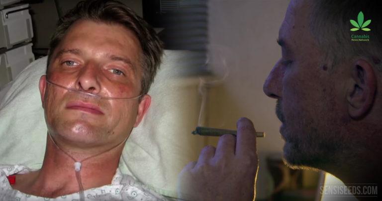 El uso de cannabis como medicina después de un accidente de rally