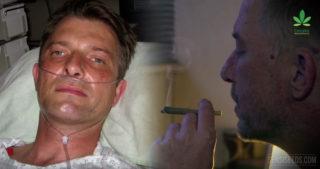 Le cannabis en tant que médicament après un accident de rallye