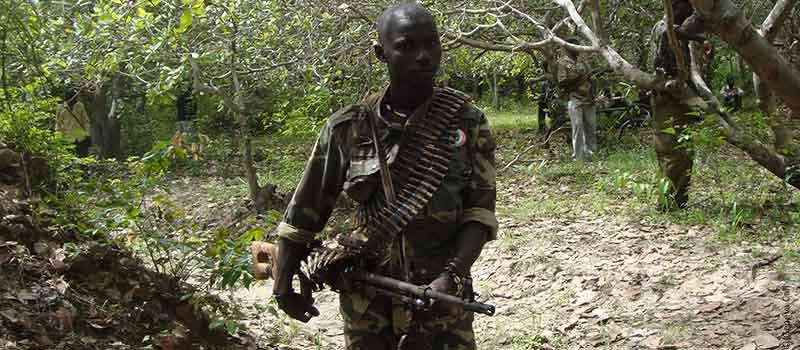 In het conflictgebied Casamance blijft men vernietigingsprogramma's uitvoeren (© Genevacall.org)