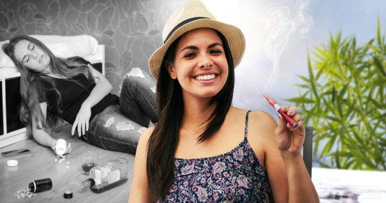 Cannabis as a withdrawal drug
