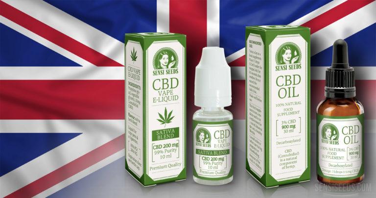 El Reino Unido Reconoce Oficialmente el CBD como Medicina