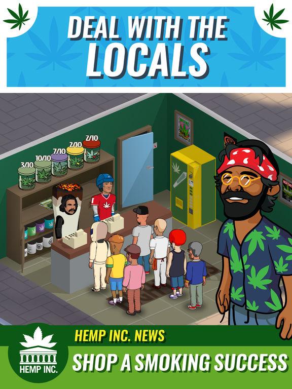 Hemp Inc ist eines der wenigen wirklich spannenden Cannabis-Games, die es bislang gibt