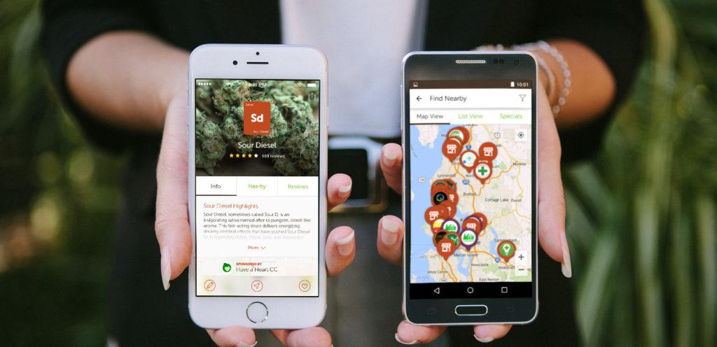 Leafly ist eine der beliebtesten Cannabis-Apps der Welt