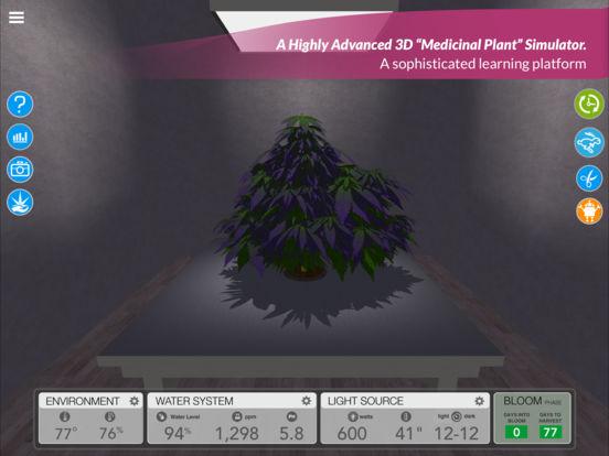 simLeaf ist ein hoch entwickelter Grow-Simulator für Cannabis!