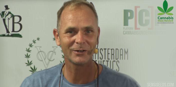 Alan Dronkers spricht in diesem CNN-Video über Cannabis - Sensi Seeds Blog