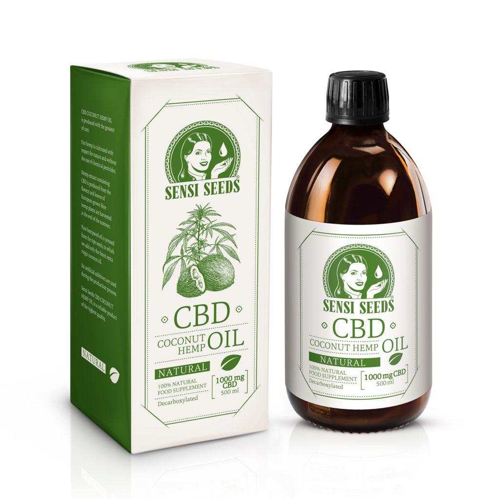 Sensi Seeds heeft nu CBD-kokos-hennepolie in het assortiment - Sensi Seeds Blog