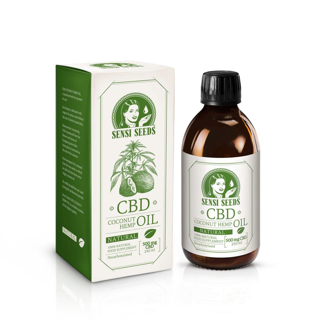 Sensi Seeds ofrece ahora aceite de CBD de cáñamo y coco - Sensi Seeds Blog