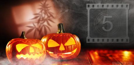 Top 5 Horrorfilme an Halloween anschauen und dabei Cannabis rauchen