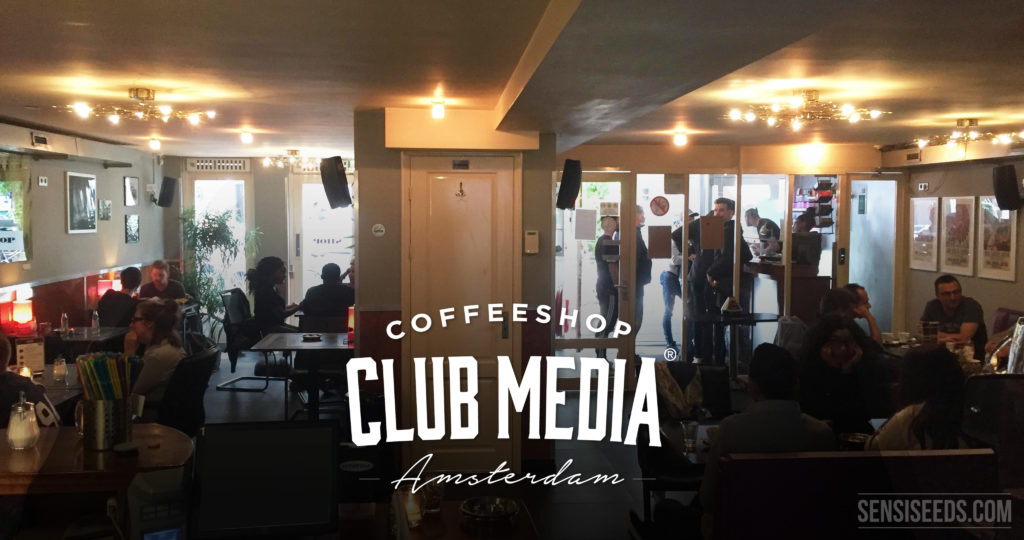 Coffeeshop Club Media - meilleur Coffeeshop d'Amsterdam! - Sensi Seeds Blog