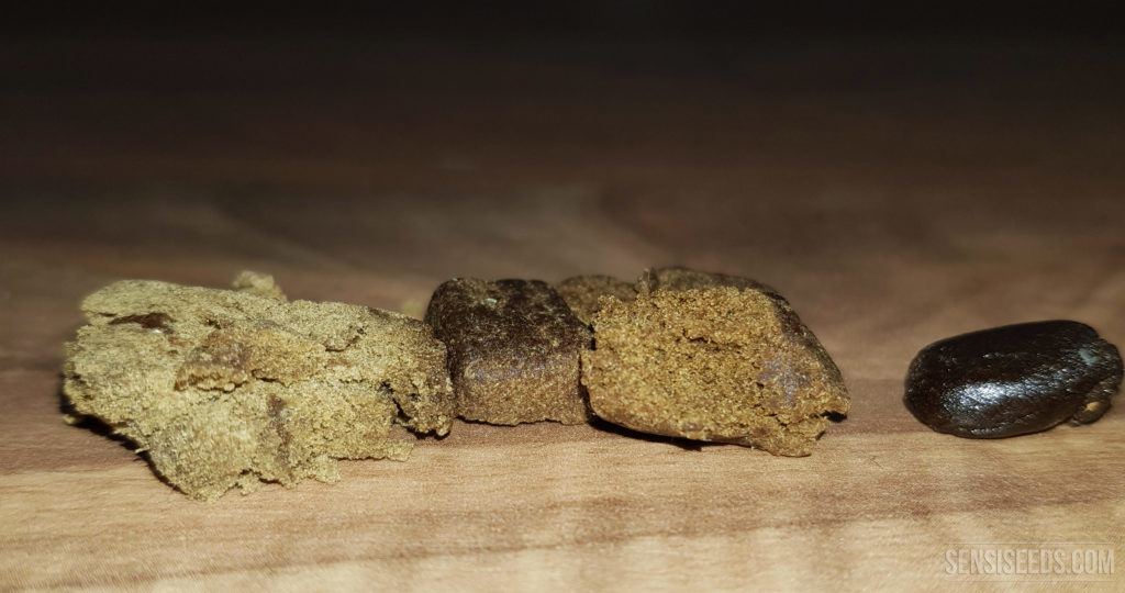 Four different types of hash