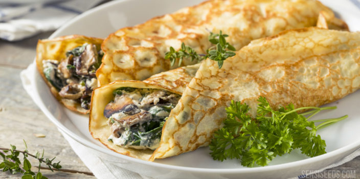 Using cannabis in savoury recipes