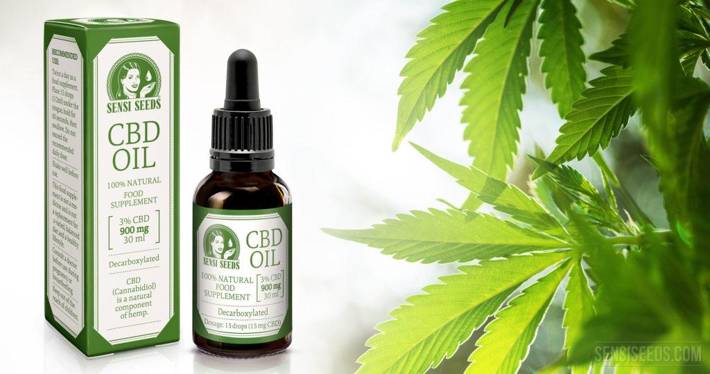 Huile de cannabis (spectre complet)/huile de CBD ?
