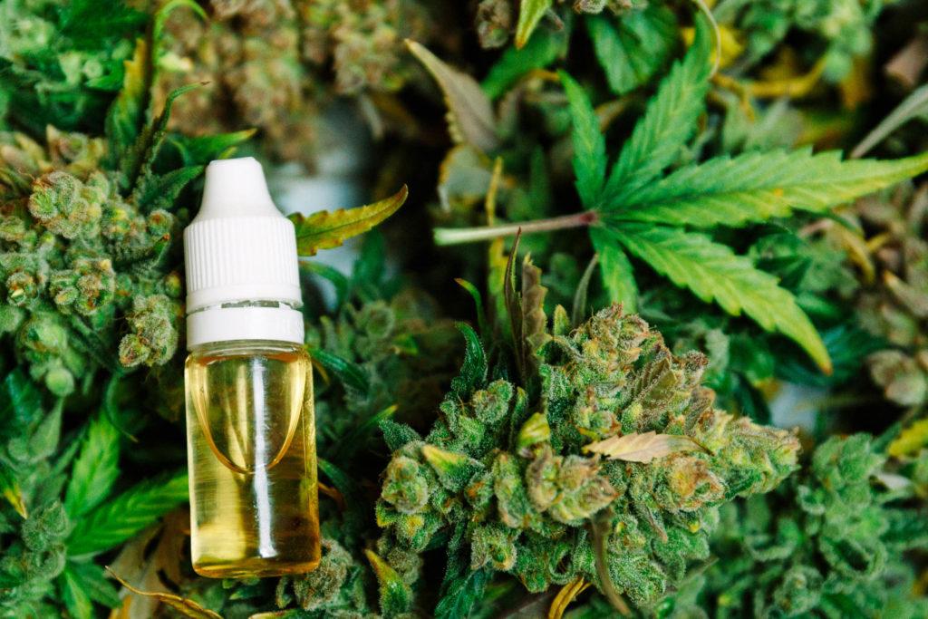 Huile de cannabis (spectre complet)/huile de CBD