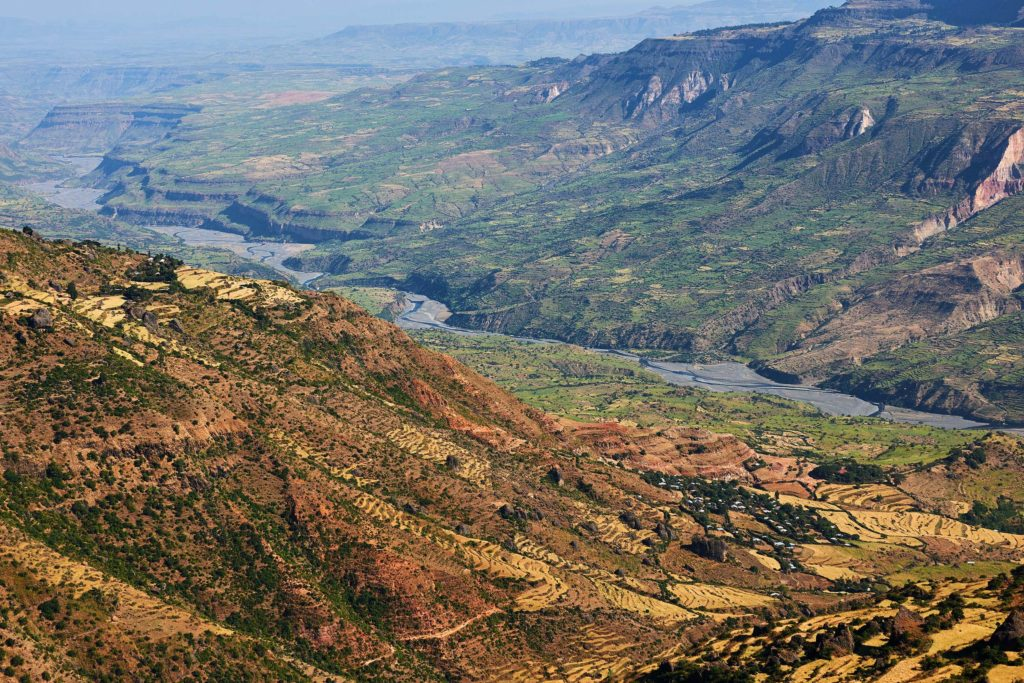 A Malawian mountain landscape