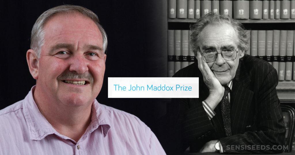 Zwei Bilder von Prof. David Nutt
