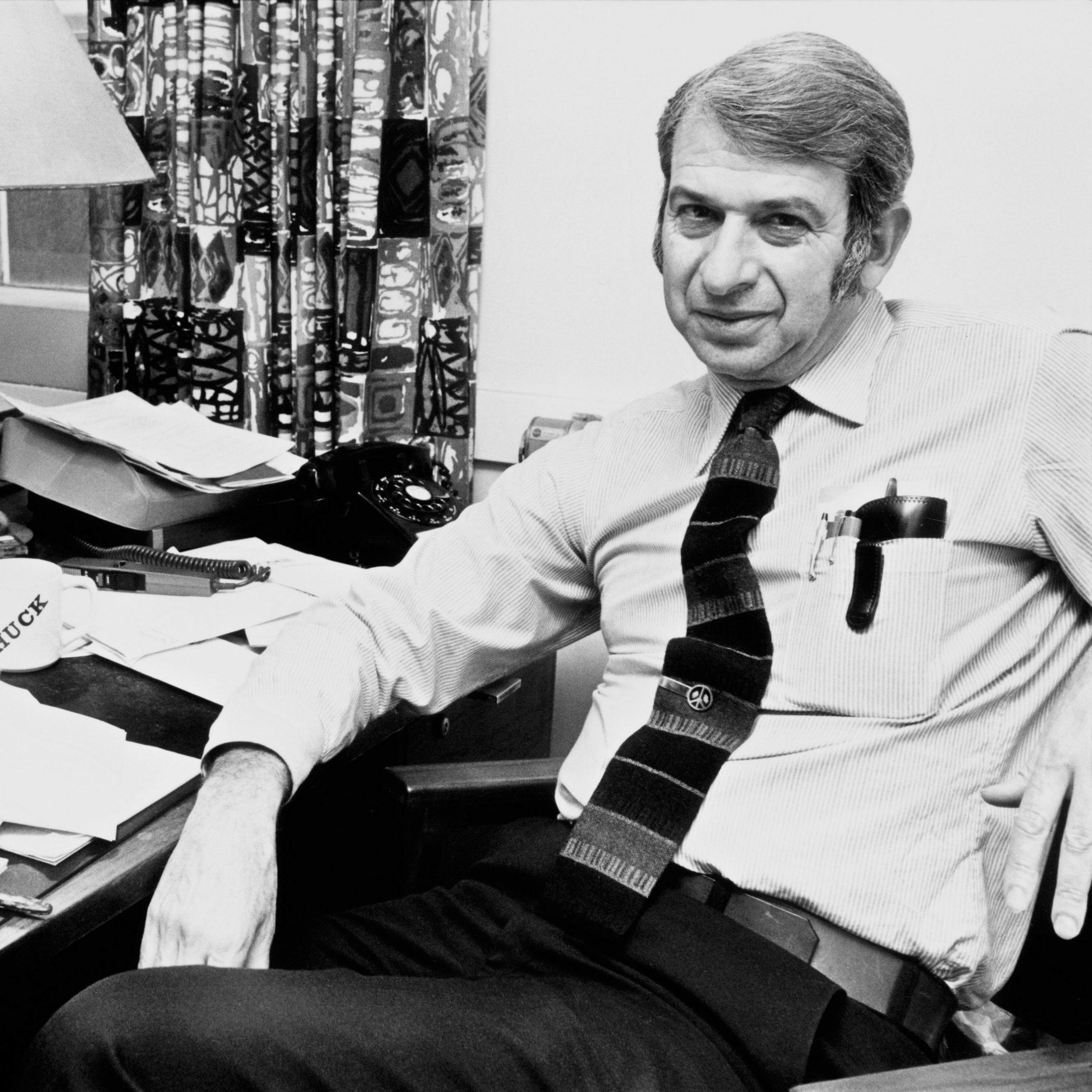 Dr Lester Grinspoon, ekspert medycznej marihuany, profesor nadzwyczajny psychiatrii w Harvard Medical School.