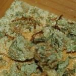 Glassplitter Cannabis Hanf Streckmittel