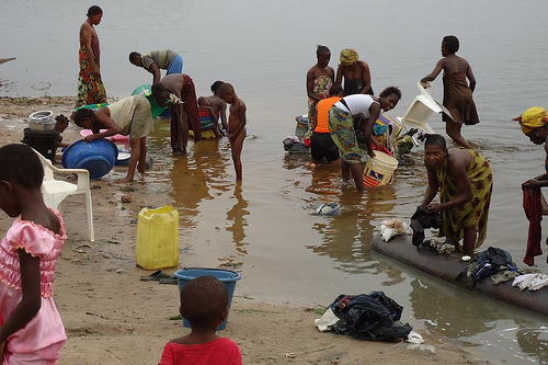 Children Dying From Unclean Drinking Water