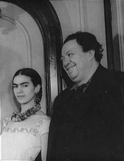 Der Marihuana-Nutzer Diego Rivera und seine Frau Frida Kahlo