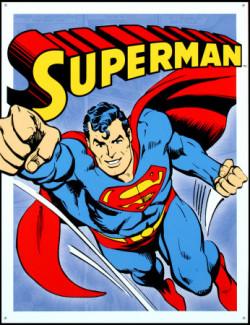 """Mit Superman entsteht die Mode der verkleideten """"Superhelden"""" mit übermenschlichen Kräften und einem Doppelleben (PSC1121-GO)"""