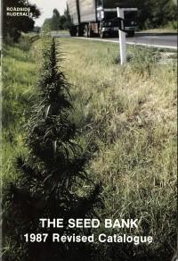 Einer der ersten Kataloge von Sensi Seeds (1987).
