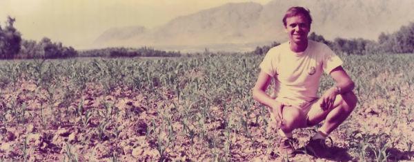 Ben Dronkers in Afghanistan 1970s