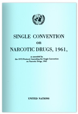 The SCND is the primary international treaty keeping cannabis illegal throughout the world