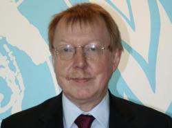 Raymond Yans, president of the International Narcotics Control Board
