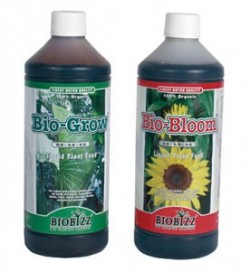 BioBizz is a well-known organic nutrient product range