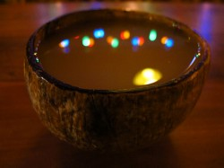 A bowl of traditionally-prepared kava 'tea' (Nate Gray)