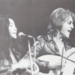 John Lennon and Yoko Ono at the John Sinclair Freedom Rally.