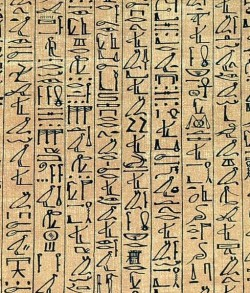 Cannabis in Egypt - 2. Ancient Egyptian scrolls dating back to 2,000 BCE describe medicinal use of cannabis (Wikimedia Commons)