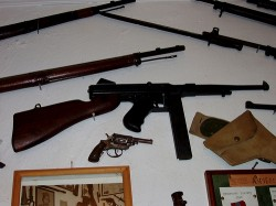 Cannabis in Greece - 3. A collection of firearms owned by an individual on Crete (Damian Entwistle)