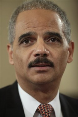 Eric Holder, the American Minister of Justice